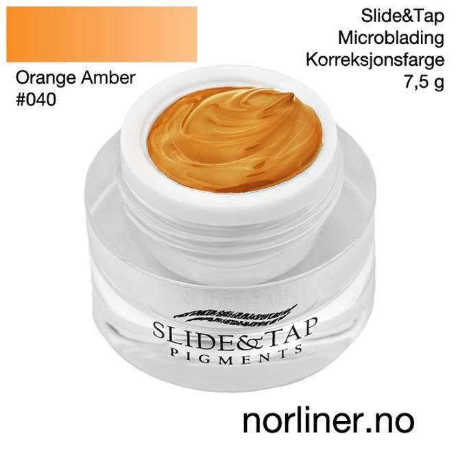 Bilde av LB-SLIDE&TAP #040 Orange Amber 7,5g
