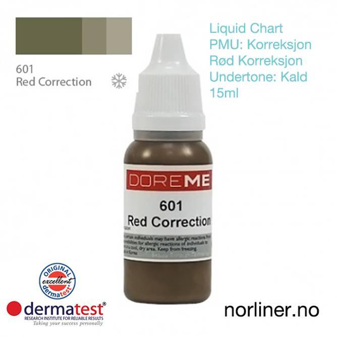 Bilde av MT-DOREME #601 PMU RØD-Korrigering [Liquid Chart]