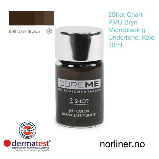 Bilde av MT-DOREME #808 Dark Brown PMU Bryn & Microbl.