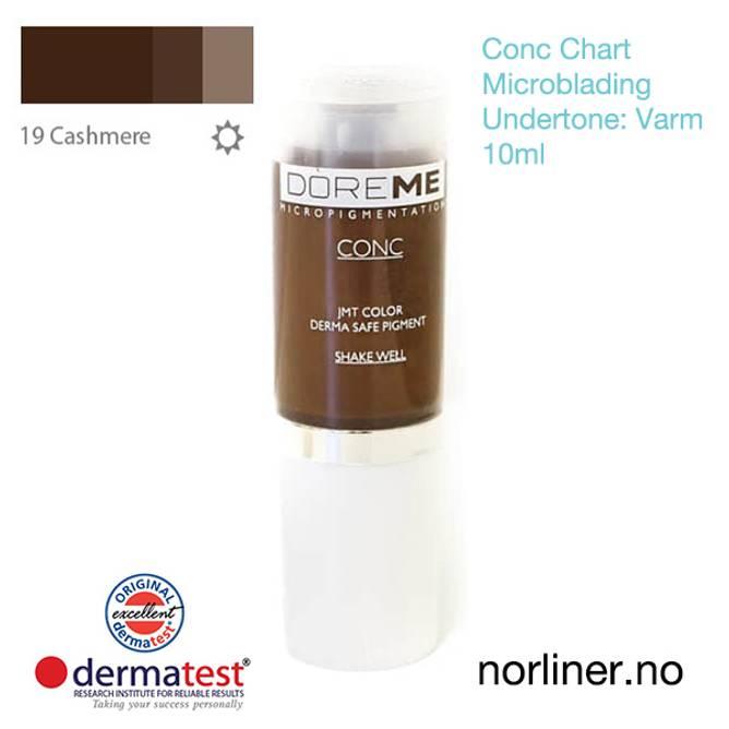 Bilde av MT-DOREME #19 Cashmere til Microblading [Conc