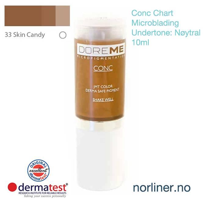 Bilde av MT-DOREME #33 Skin Candy til Microblading [Conc